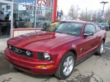 2007 Redfire Metallic Ford Mustang V6 Deluxe Coupe #47157937