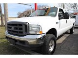 2004 Oxford White Ford F250 Super Duty XL Crew Cab 4x4 #47190430
