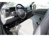 2004 Ford F250 Super Duty XL Crew Cab 4x4 Medium Flint Interior