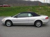 2002 Brilliant Silver Metallic Chrysler Sebring Limited Convertible #47157259