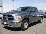 2010 Mineral Gray Metallic Dodge Ram 1500 SLT Quad Cab 4x4 #47190451