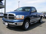 2006 Atlantic Blue Pearl Dodge Ram 1500 SLT TRX Regular Cab 4x4 #47190452