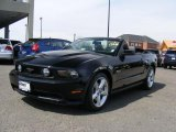 2011 Ebony Black Ford Mustang GT Premium Convertible #47190454