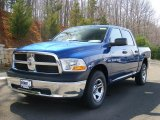2011 Deep Water Blue Pearl Dodge Ram 1500 ST Crew Cab 4x4 #47190463