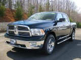 2011 Hunter Green Pearl Dodge Ram 1500 Big Horn Crew Cab 4x4 #47190467