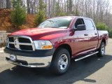 2011 Deep Cherry Red Crystal Pearl Dodge Ram 1500 ST Crew Cab 4x4 #47190469