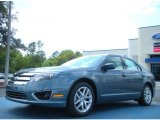 2011 Steel Blue Metallic Ford Fusion SEL #47157315