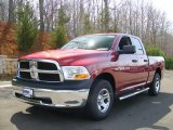 2011 Deep Cherry Red Crystal Pearl Dodge Ram 1500 ST Quad Cab 4x4 #47190472
