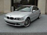 2004 Titanium Silver Metallic BMW 3 Series 330i Coupe #47190274