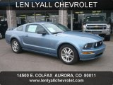 2005 Windveil Blue Metallic Ford Mustang GT Premium Coupe #47157339