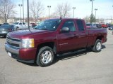 Deep Ruby Metallic Chevrolet Silverado 1500 in 2008