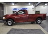 2011 Deep Cherry Red Crystal Pearl Dodge Ram 1500 ST Regular Cab #47190299