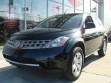 2007 Super Black Nissan Murano S AWD #47190532
