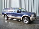 2005 True Blue Metallic Ford Excursion Eddie Bauer 4x4 #4689316