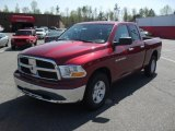 2011 Deep Cherry Red Crystal Pearl Dodge Ram 1500 SLT Quad Cab #47157828