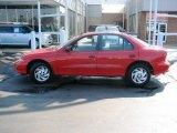 1998 Flame Red Chevrolet Cavalier Sedan #4695144