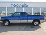 2004 Arrival Blue Metallic Chevrolet Silverado 1500 LS Extended Cab #47157374