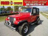 1992 Jeep Wrangler Radiant Fire Red