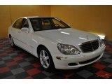 2004 Alabaster White Mercedes-Benz S 500 Sedan #47190384