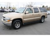 Sunset Gold Metallic Chevrolet Suburban in 2001