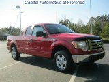 2010 Vermillion Red Ford F150 XLT SuperCab #47157875