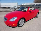 2003 Lexus SC Absolutely Red