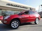 2009 Matador Red Mica Lexus RX 350 AWD #47240521