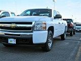 2011 Summit White Chevrolet Silverado 1500 LT Crew Cab 4x4 #47240479