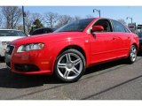 2008 Brilliant Red Audi A4 2.0T quattro Sedan #47240487