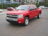 2011 Victory Red Chevrolet Silverado 1500 LT Crew Cab 4x4 #47252110