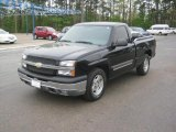 2005 Black Chevrolet Silverado 1500 LS Regular Cab #47252117
