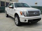 2011 White Platinum Metallic Tri-Coat Ford F150 Platinum SuperCrew 4x4 #47251795