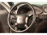 2002 Chevrolet S10 LS Crew Cab 4x4 Steering Wheel