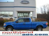 2011 Blue Flame Metallic Ford F150 XLT SuperCab 4x4 #47251577