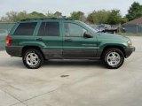 2000 Jeep Grand Cherokee Shale Green Metallic