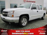 2006 Summit White Chevrolet Silverado 1500 LT Extended Cab #47251710