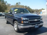 2006 Dark Blue Metallic Chevrolet Silverado 1500 Regular Cab #4689288