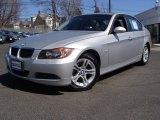 2008 Titanium Silver Metallic BMW 3 Series 328xi Sedan #47251598