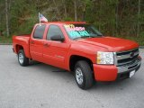 2010 Victory Red Chevrolet Silverado 1500 LS Crew Cab #47252192