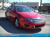 2011 Red Candy Metallic Ford Fusion Sport #47251719