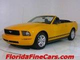 2007 Grabber Orange Ford Mustang V6 Premium Convertible #441452
