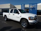 2006 Bright White Dodge Ram 1500 SLT Quad Cab 4x4 #47251756