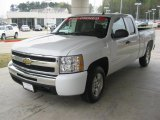 2009 Summit White Chevrolet Silverado 1500 LT Extended Cab #47251914