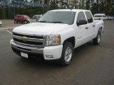 2011 Summit White Chevrolet Silverado 1500 LT Crew Cab 4x4 #47252108
