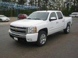 2011 Summit White Chevrolet Silverado 1500 LT Crew Cab #47252109