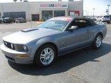 2007 Tungsten Grey Metallic Ford Mustang GT Premium Convertible #47251926