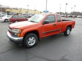 2008 Chevrolet Colorado Work Truck Extended Cab Data, Info and Specs