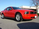 2006 Torch Red Ford Mustang V6 Premium Coupe #47291865