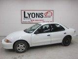 2002 Bright White Chevrolet Cavalier Sedan #47291466