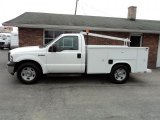 2005 Oxford White Ford F350 Super Duty XL Regular Cab Chassis #47292488